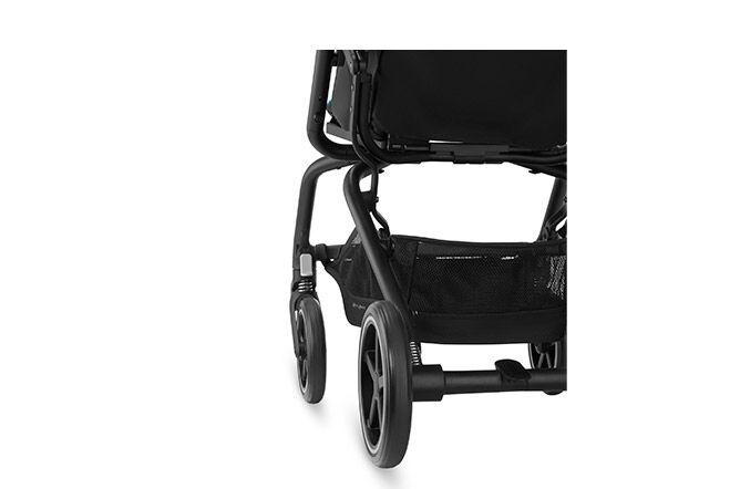 Große Räder mit Allradfederung