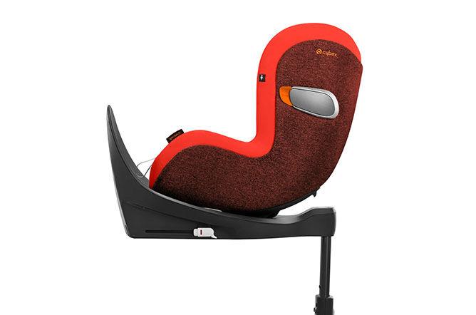 Rückwärts gerichteter Kindersitz