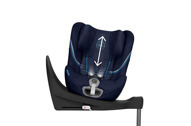 Höhenverstellbare Kopfstütze