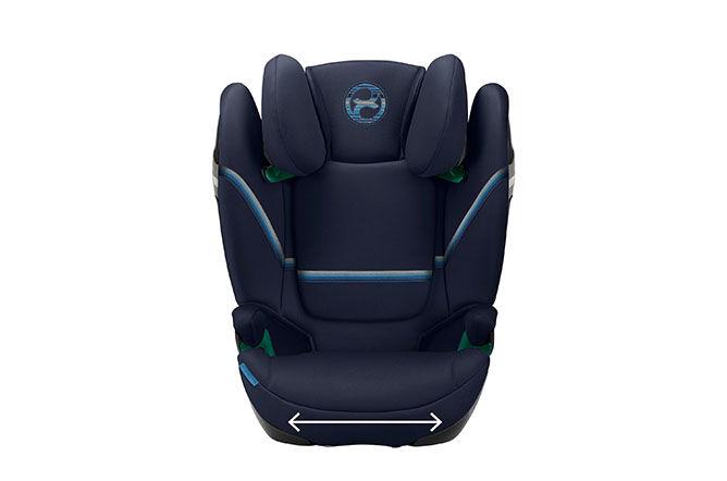 Extra breites und tiefes Sitzkissen