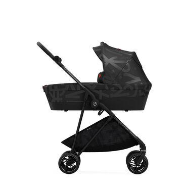 Cybex Gold Melio Street Carry Cot Kinderwagen Real Black