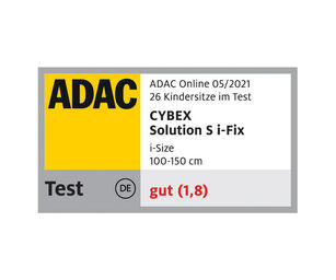 Cybex Gold Solution S i-Fix Kindersitz ADAC