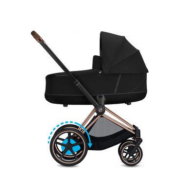Cybex e-Priam Platinum Lux Carry Cot Kinderwagen
