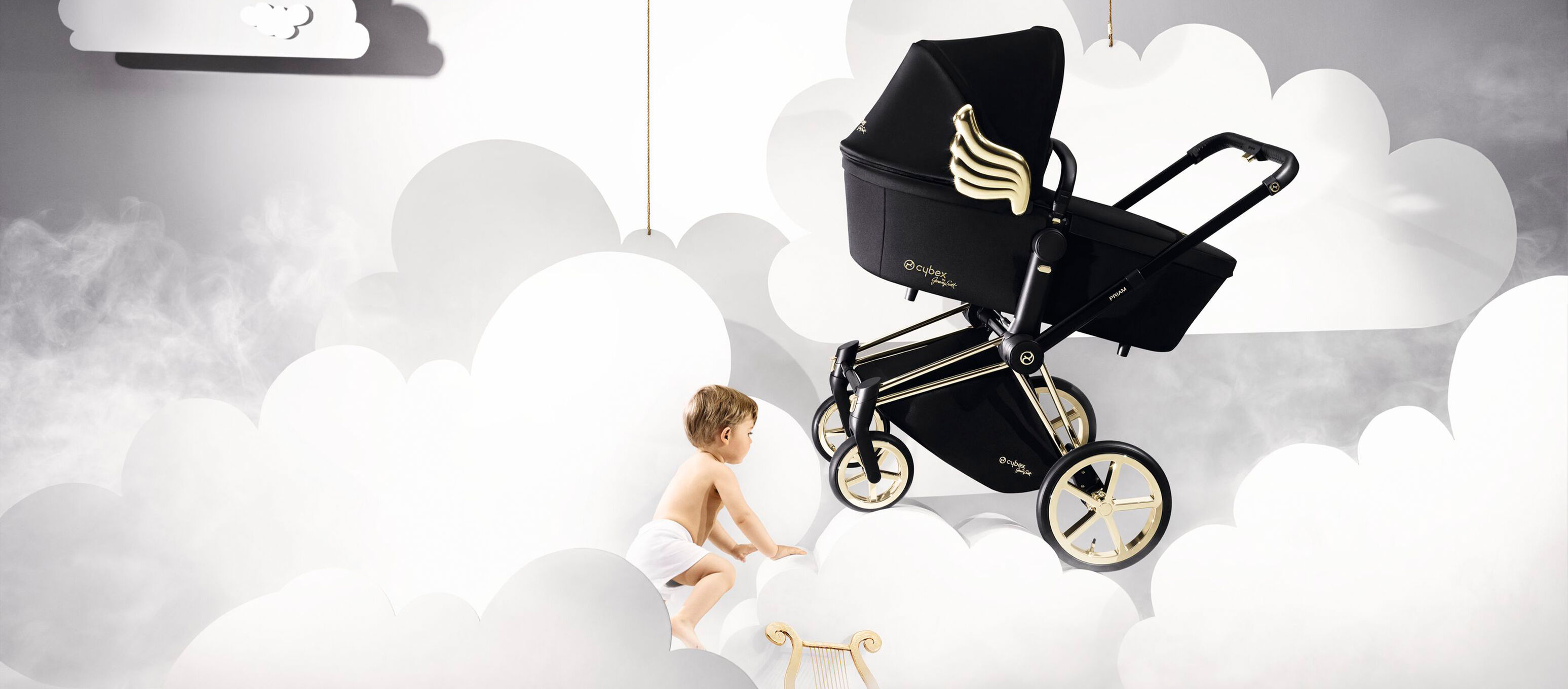 Cybex by Jeremy Scott Wings Kollektion Kinderwagen und Baby Bild
