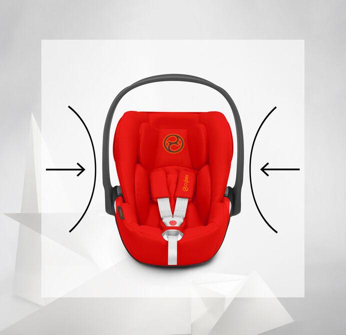 Cybex Platinum Cloud Z i-Size Kindersitze Energieabsorbierende Schale Bild