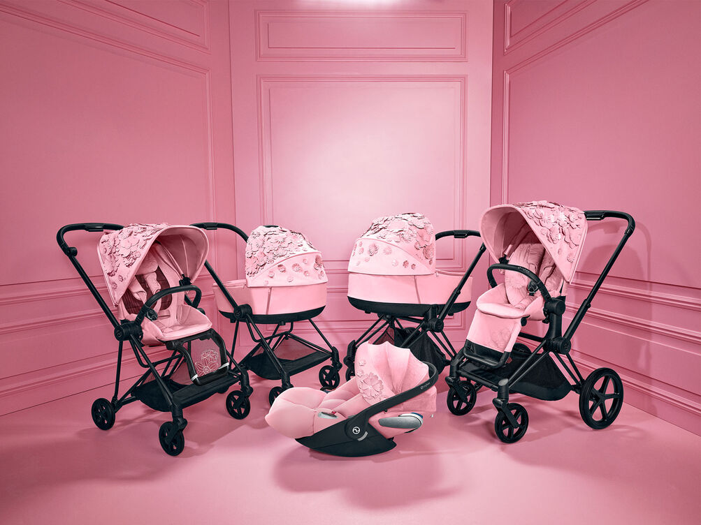 Cybex Platinum Simply Flowers Collection Priam and Mios Strollers Cloud Z i-Size Car Seat