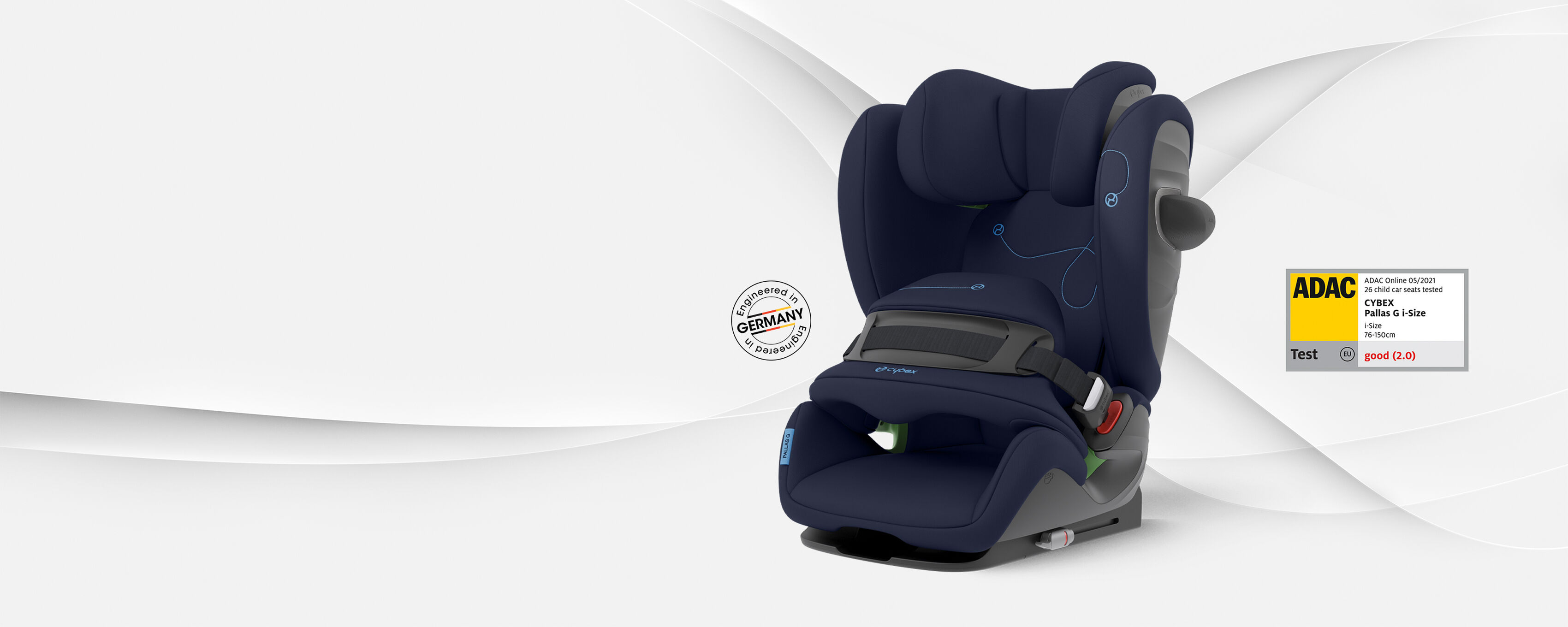 CYBEX Gold Pallas G i-Size Car Seat Test Winner