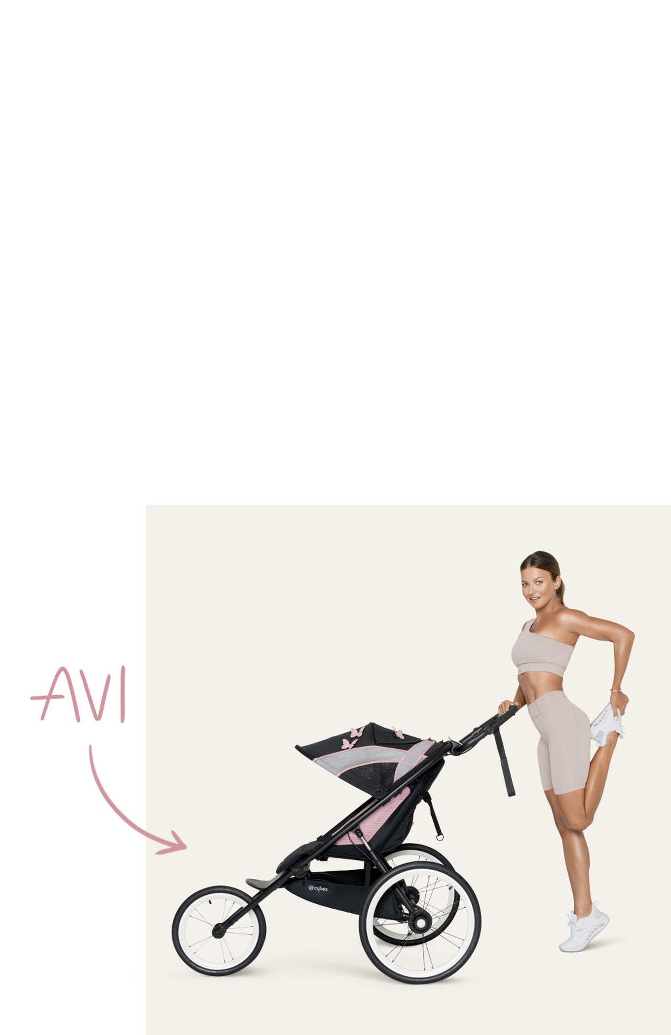 Cybex Gold by Anna Lewandowska Sport Collection AVI Jogging Stroller