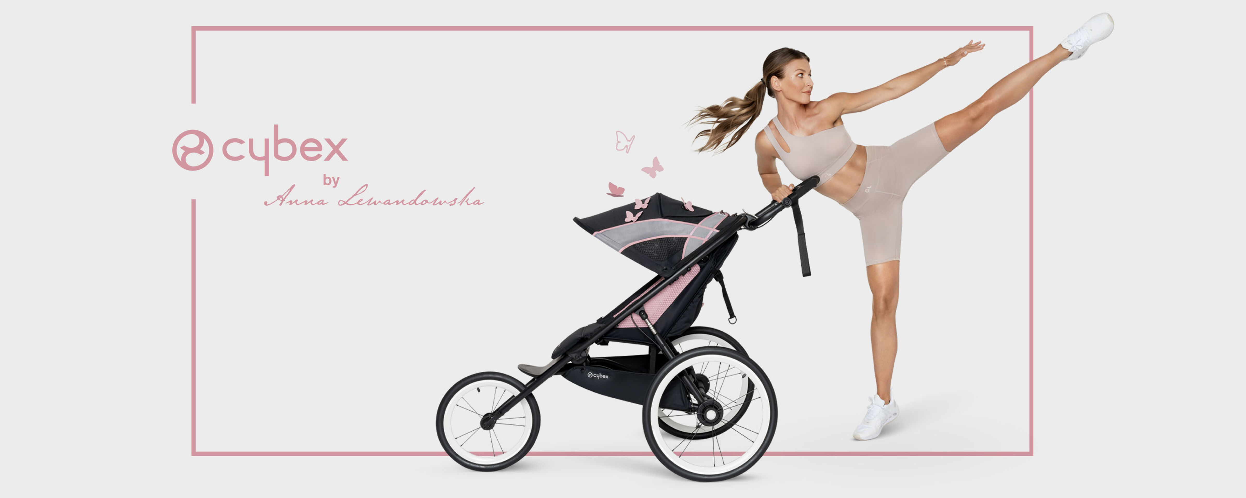 Cybex Gold by Anna Lewandowska Sport Collection Image Campaign