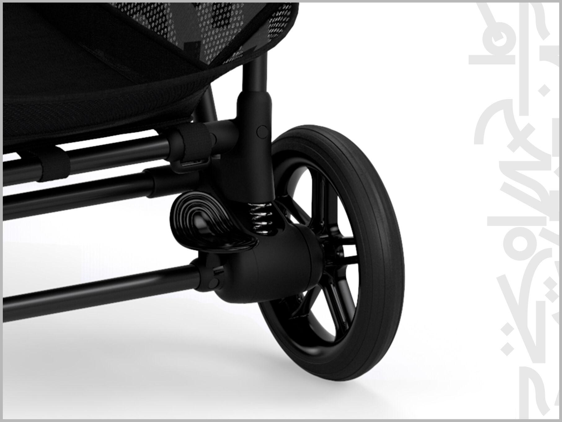 Cybex Gold Melio Street Stroller Soft Rear Wheel Suspension
