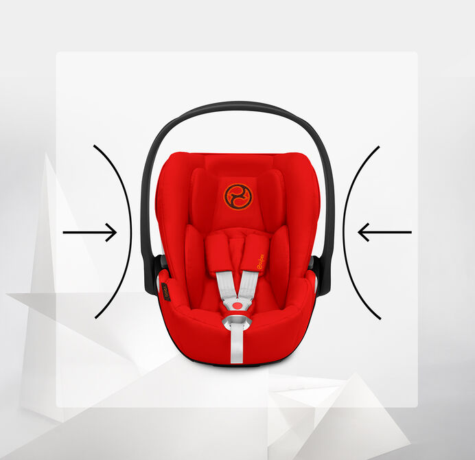 Cybex Platinum Cloud Z i-Size Car Seats Energy-Absorbing Shell Image