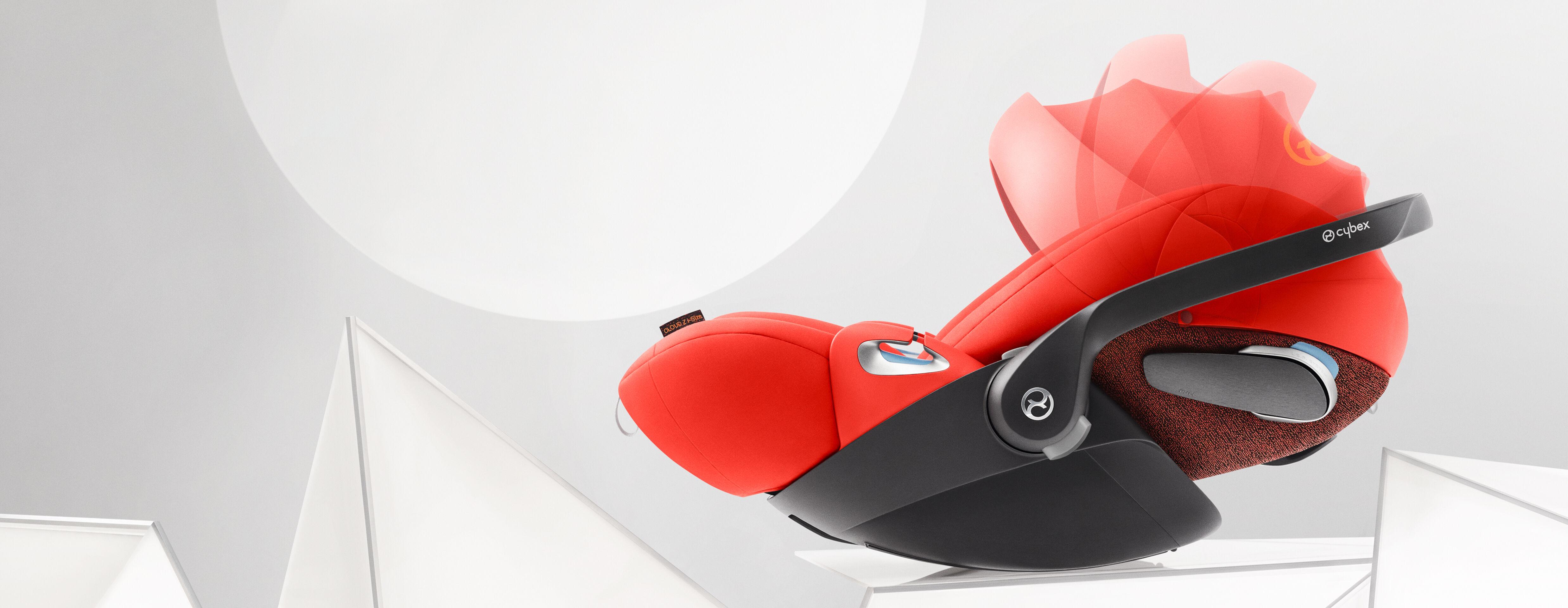 Cybex Platinum Cloud Z i-Size Car Seats Premium Sun and Wind Protection Banner