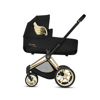Cybex by Jeremy Scott Wings Kollektion Priam Rahmen mit Priam Lux Carry Cot Produkt Bild