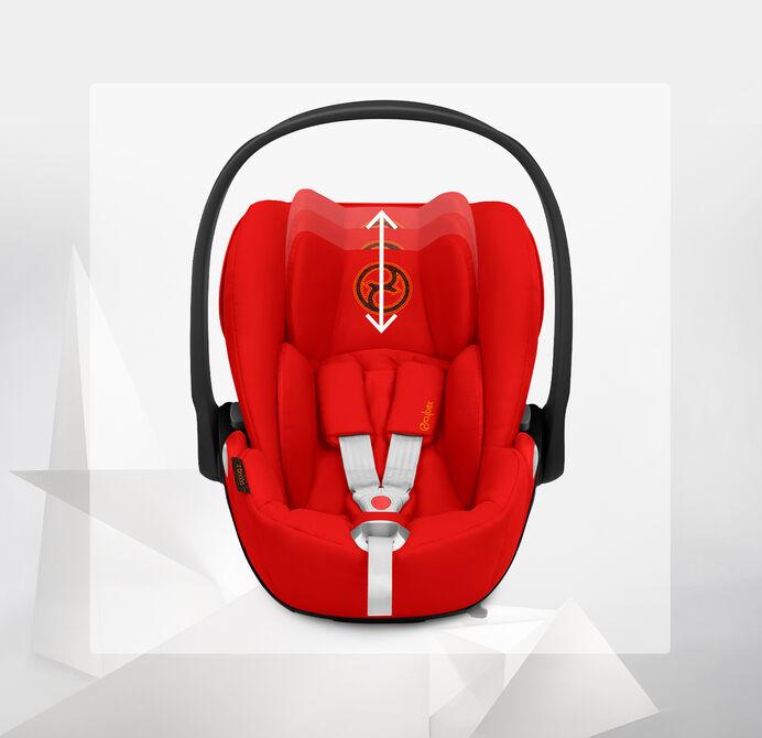 Cybex Platinum Cloud Z i-Size Car Seats Height-Adjustable Headrest Image