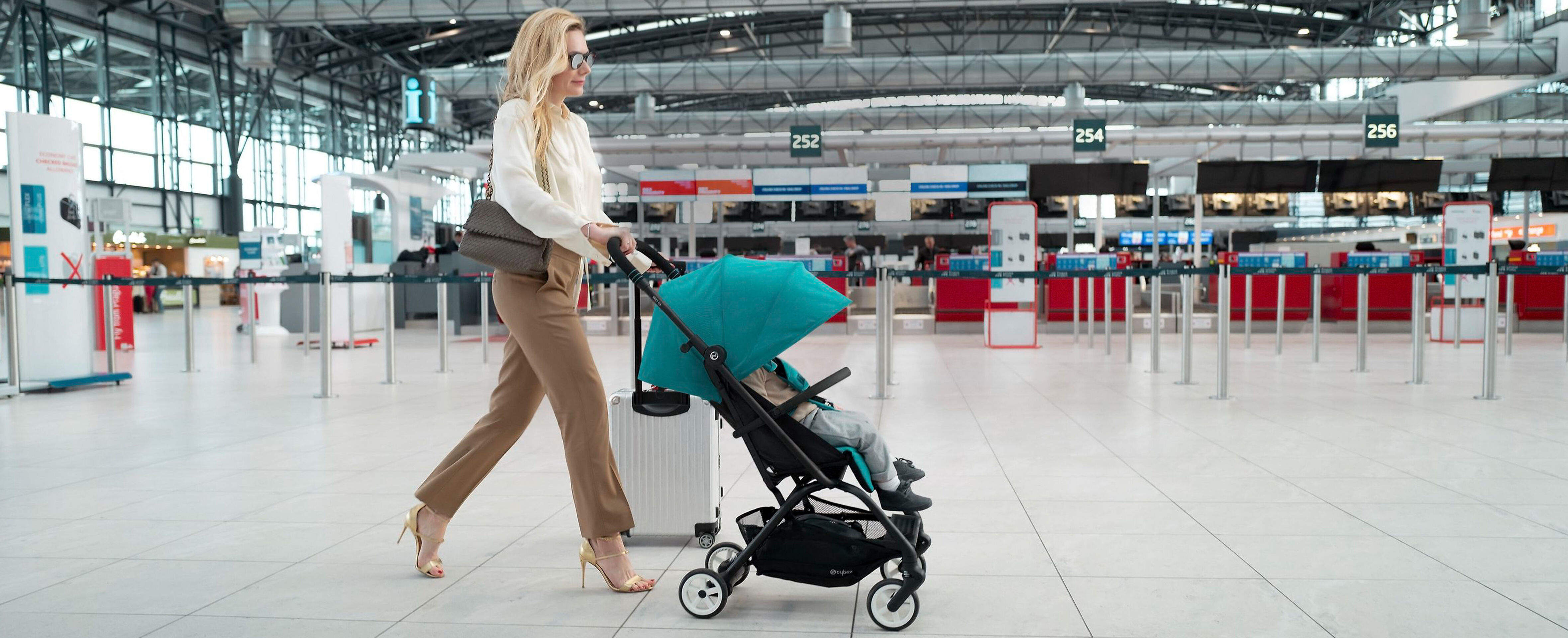 Cybex Gold Strollers and Buggies Campaign