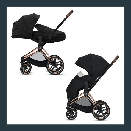 Cybex Platinum Priam Lite Cot 2-in-1 Image