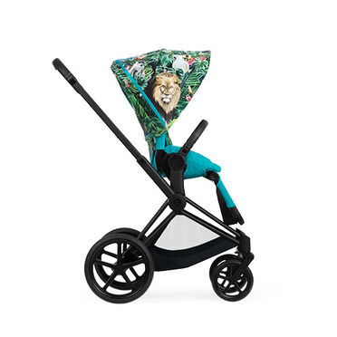 Cybex Platinum DJ Khaled Collaboration Priam Rahmen Sitzpaket Kinderwagen Produkt Bild