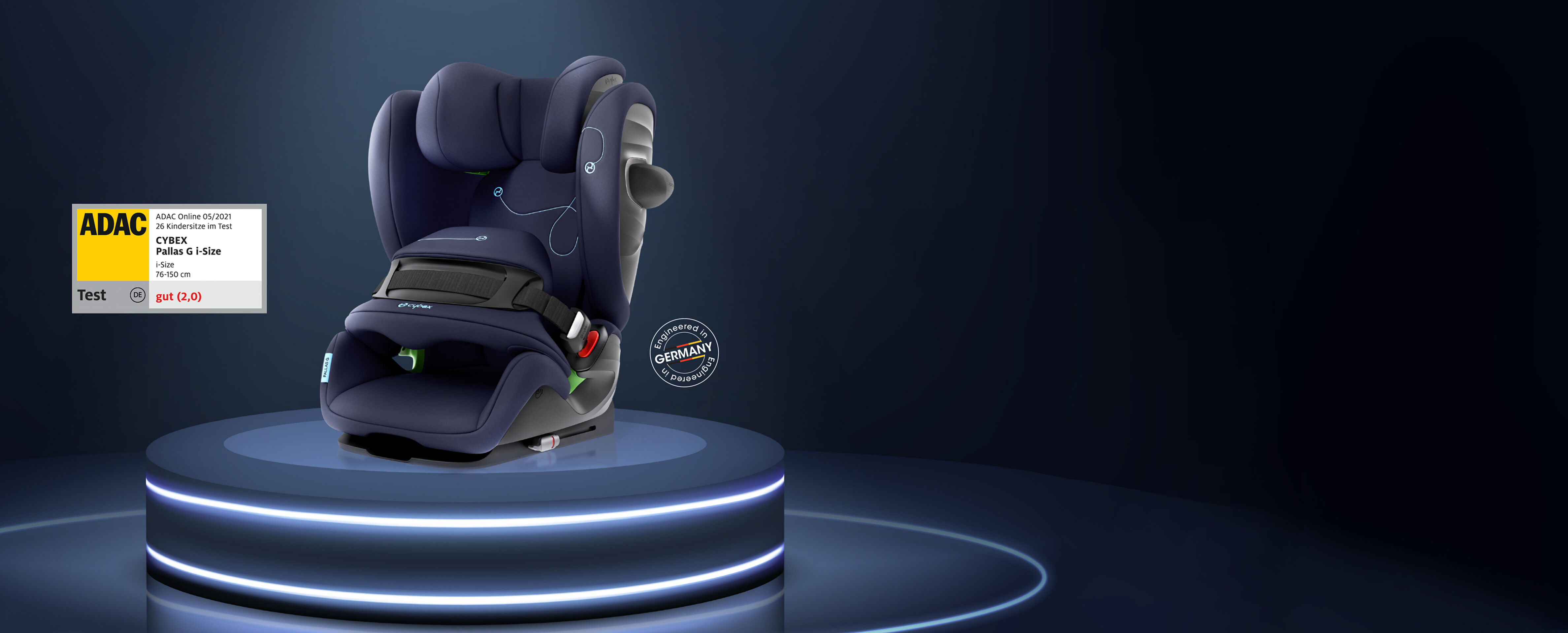 Cybex Gold Kindersitz Testsieger Pallas G i-Size