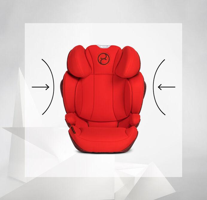 Cybex Platinum Solution Z i-Fix Kindersitz Aufprallschutz