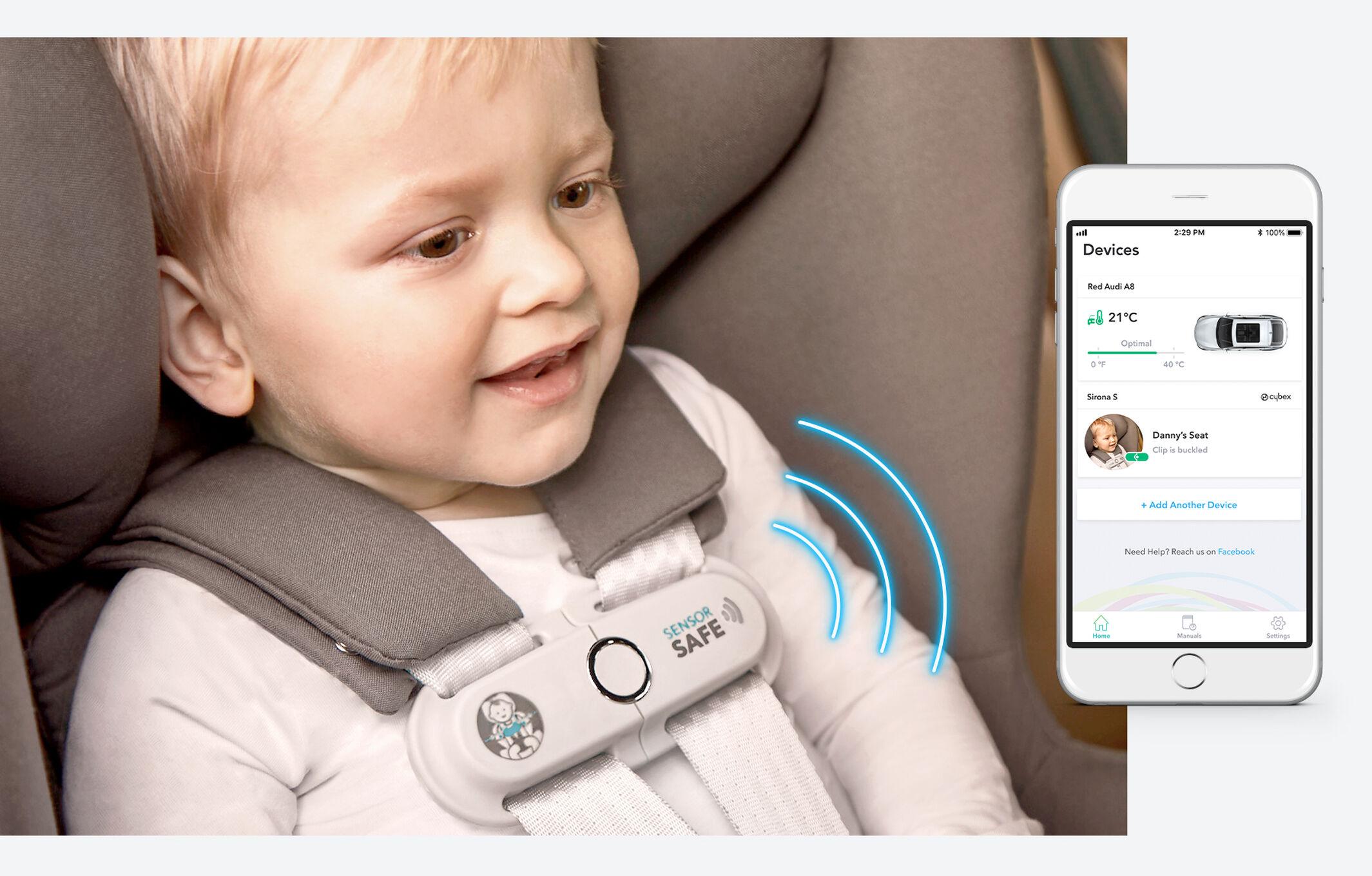 CYBEX SensorSafe intelligente Verbindung Bild