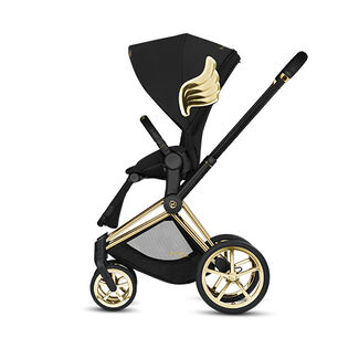 Cybex by Jeremy Scott Wings Kollektion Priam Rahmen mit Priam Sitzpaket Produkt Bild