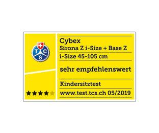 Cybex Platinum Sirona Z i-Size Zahlreiche Ausgezeichnungen Karussell Bild
