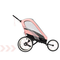 Cybex Gold Sport Zeno Stroller Silver Pink Carousel Product Image