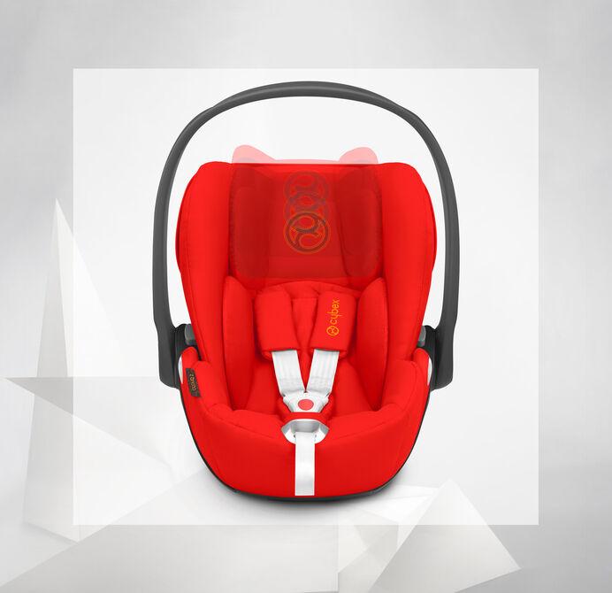 Cybex Platinum Cloud Z i-Size Kindersitze Höhenverstellbare Kopfstütze Bild