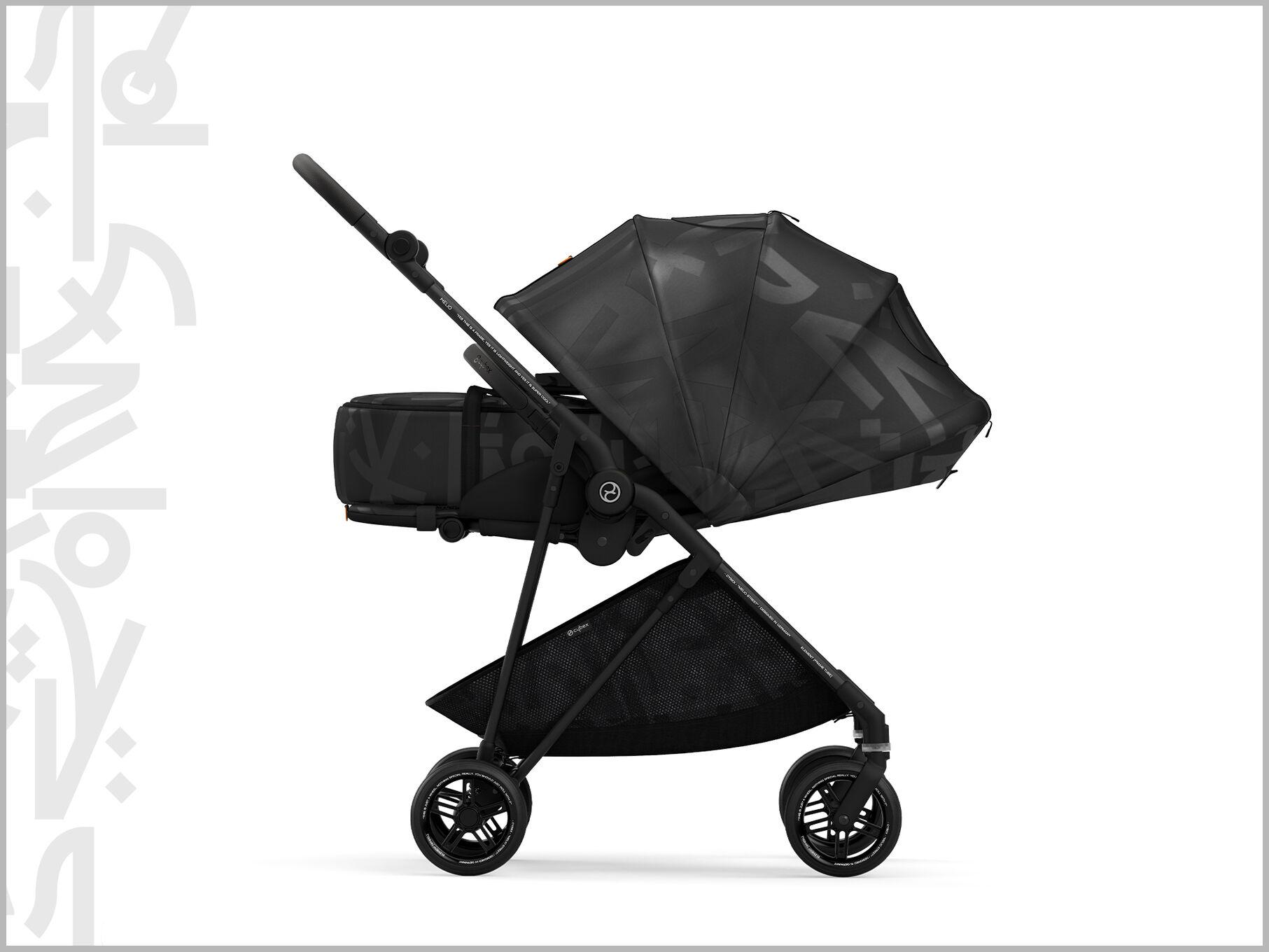 Cybex Gold Melio Street Stroller Supreme XXL Canopy
