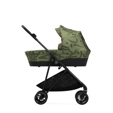 Cybex Gold Melio Street Carry Cot Kinderwagen Olive Green