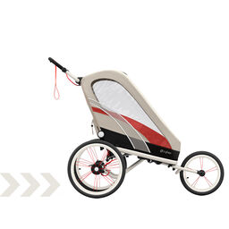 Cybex Gold Sport Zeno Stroller Bleached Sand Carousel Product Image