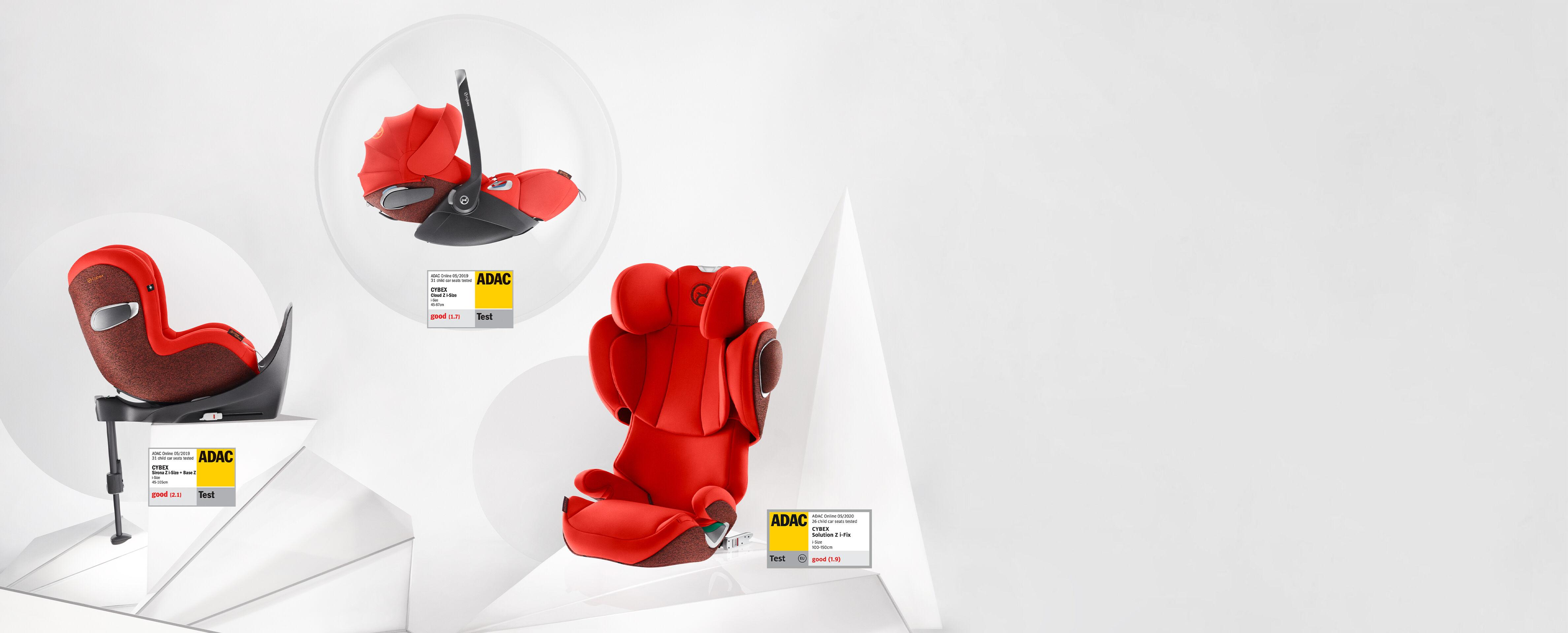 CYBEX Platinum Z-Line Car Seats Banner