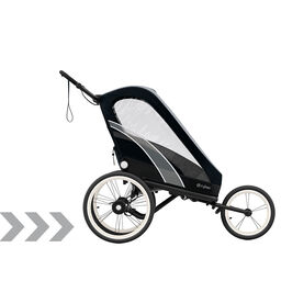 Cybex Gold Sport Zeno Stroller All Black Carousel Product Image