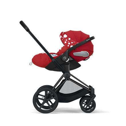 Cybex by Jeremy Scott Petticoat Kollektion Priam Rahmen mit Cloud Z i-Size Produkt Bild