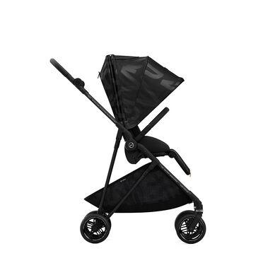 Cybex Gold Melio Street Sitzpaket Kinderwagen Real Black