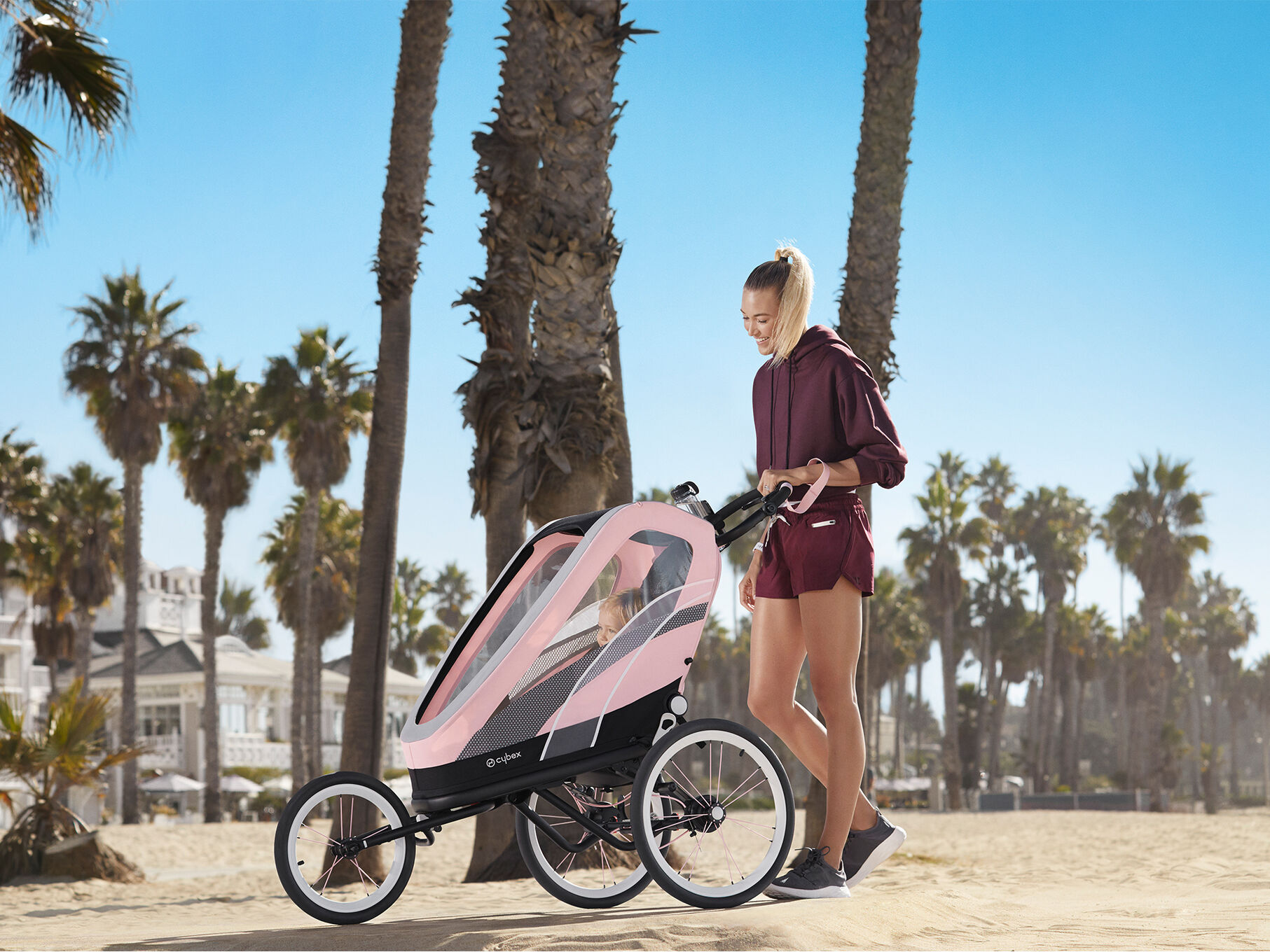 Cybex Gold Sport Zeno Strollers Carousel Campaign Image