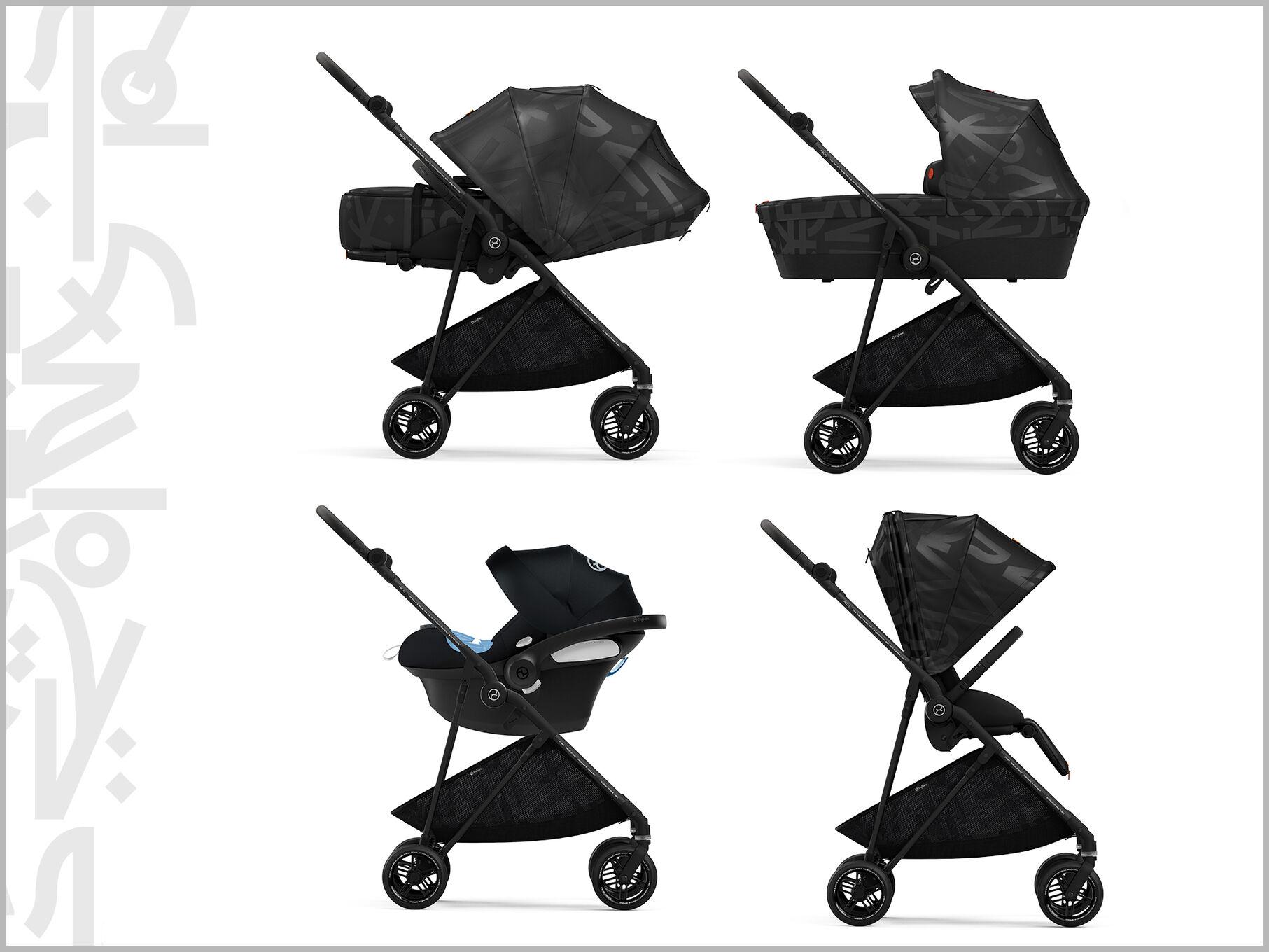 Cybex Gold Melio Street Stroller Travel System
