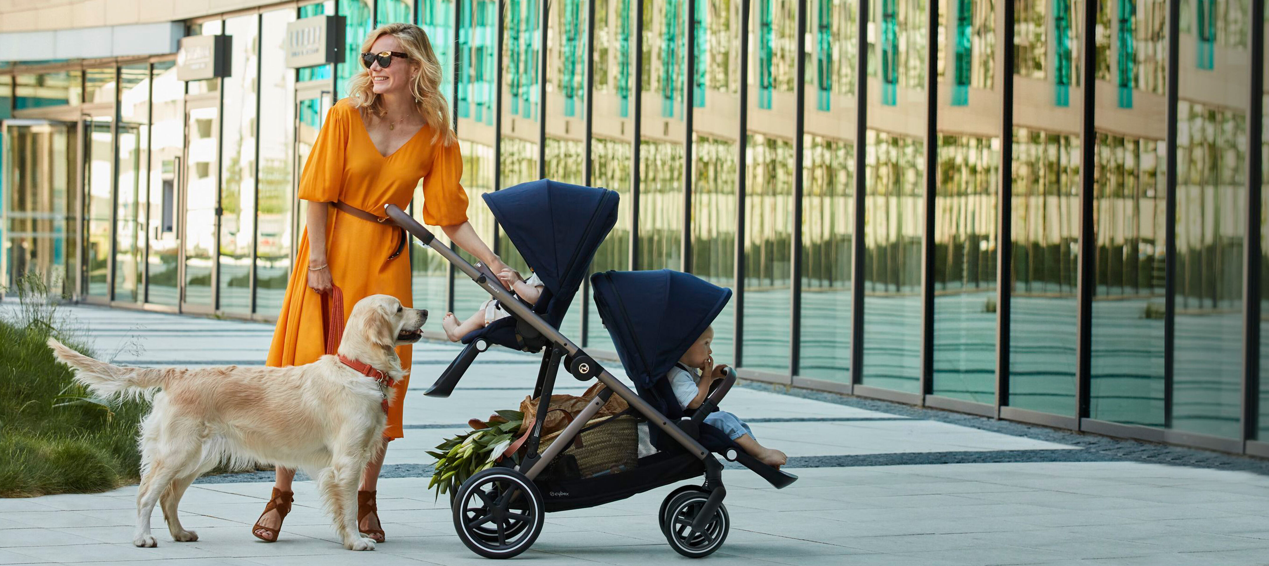 Cybex Gold Strollers Campaign