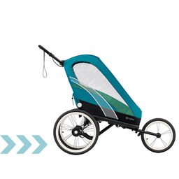 Cybex Gold Sport Zeno Stroller Maliblue Carousel Product Image