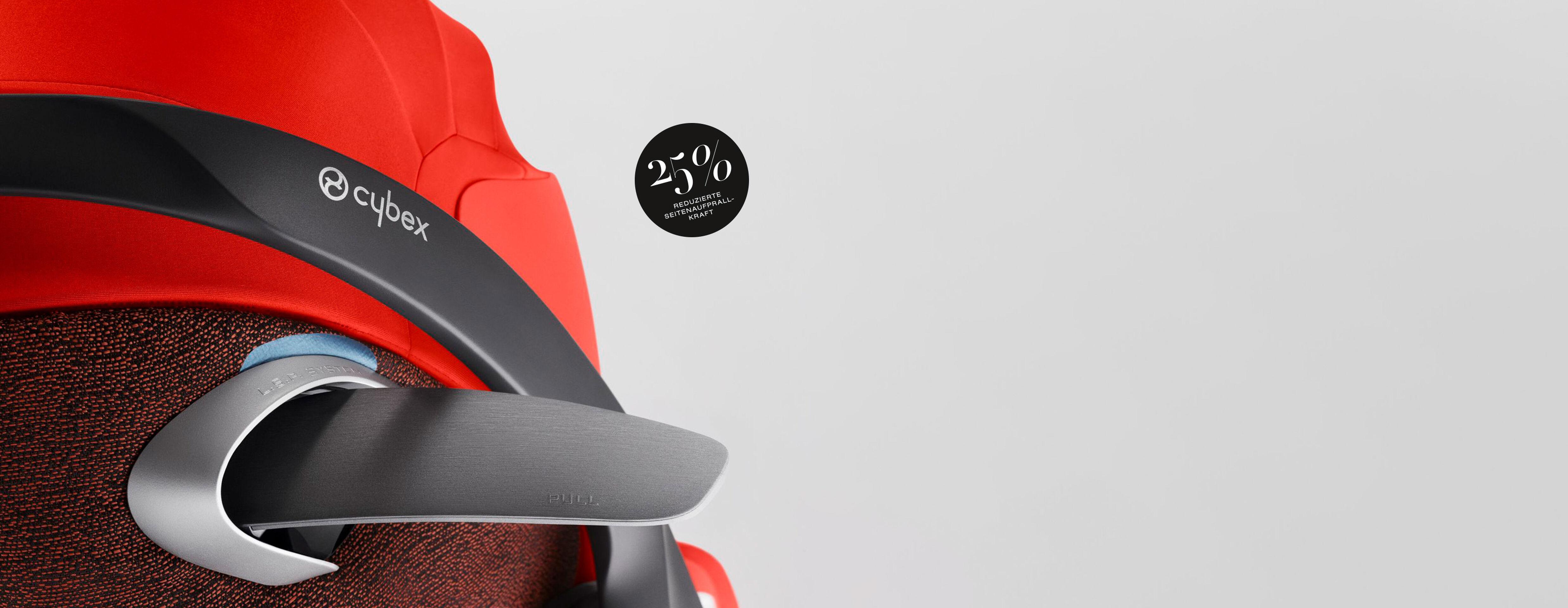 Cybex Platinum Cloud Z i-Size Kindersitze Seitenaufprallschutz Banner