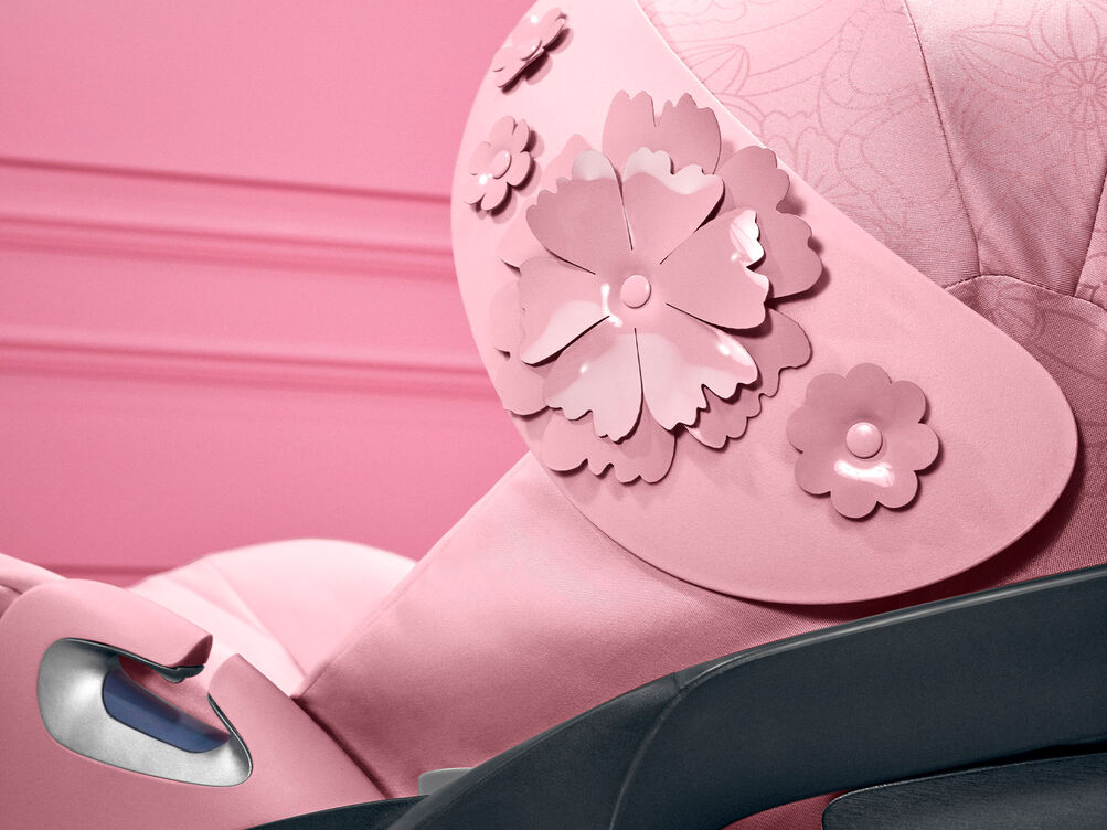 Cybex Platinum Simply Flowers Cloud Z i-Size Car Seat