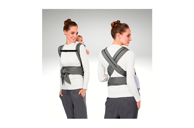 Crossed or parallel straps