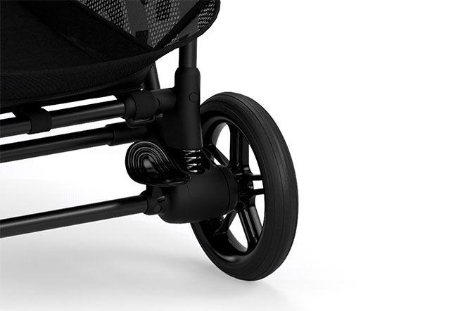 Wheel suspension