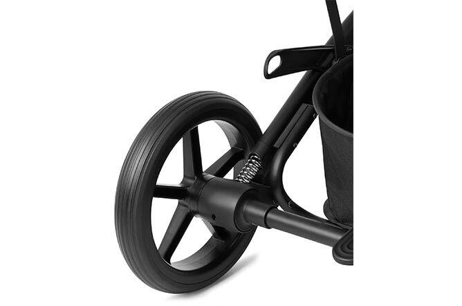 Smooth all-wheel suspension