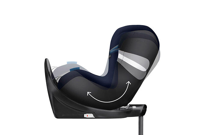 One-hand recline function