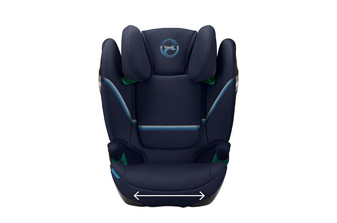 Extra wide and deep seat cushion