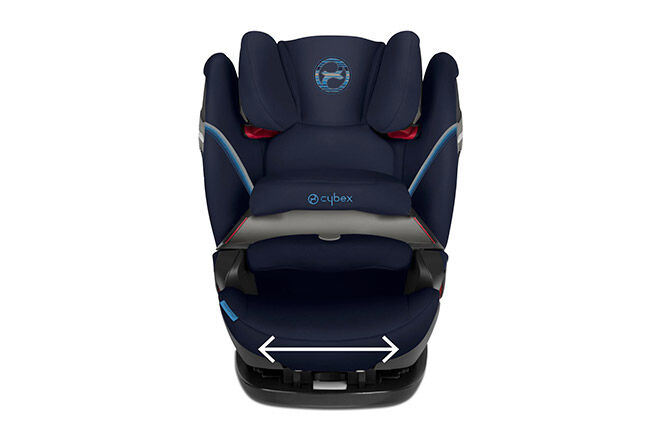 Extra-wide seat cushion