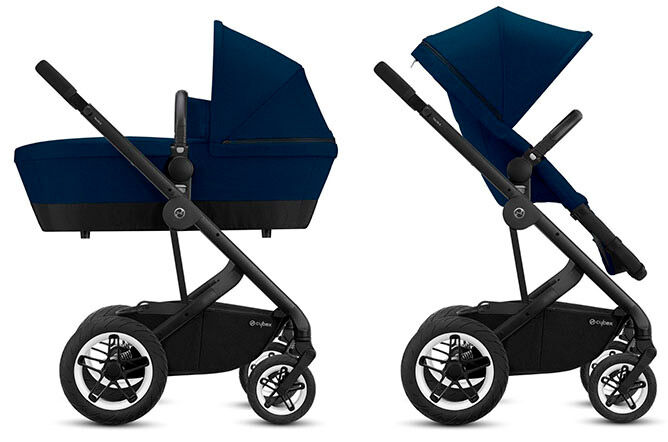 2-in-1 convertible seat