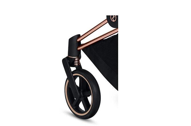 All wheel suspension