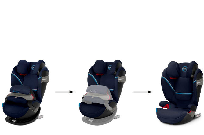 2-in-1 seat